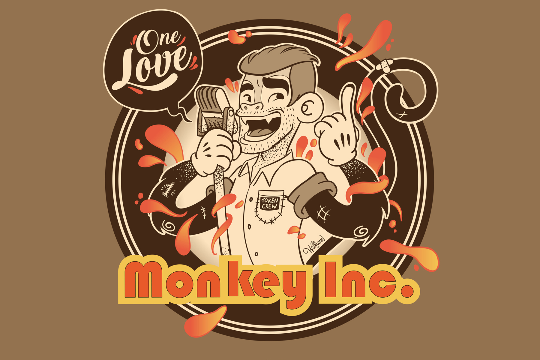 Williann Monkey Inc. - One Love
